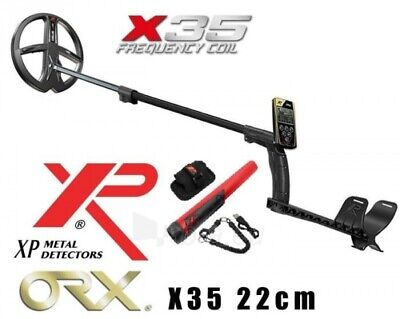 XP ORX With 9  X35 (black) Coil, Remote & MI-6 PINPOINTER • 679£