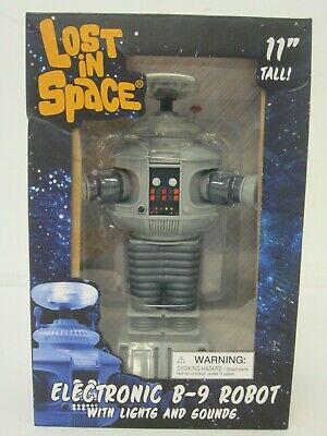 $ CDN132.10 • Buy Lost In Space 11  Electronic Toy B-9 Robot With Lights And Sounds NIB