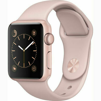 $ CDN231.29 • Buy Apple Watch Series 1 42mm Rose Gold Case - Pink Sport Band