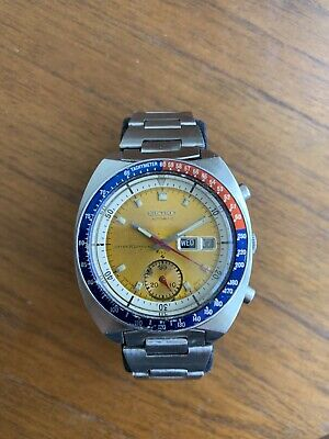 $ CDN340.17 • Buy Vintage Seiko Chronograph Watch True Pogue 1971 Automatic Original 6139-6005