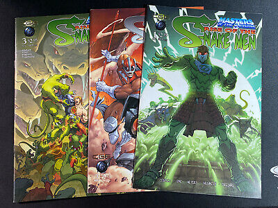 $12 • Buy Masters Of The Universe Rise Of The Snake Men 1 ,2 &3 Comics CGE 2003