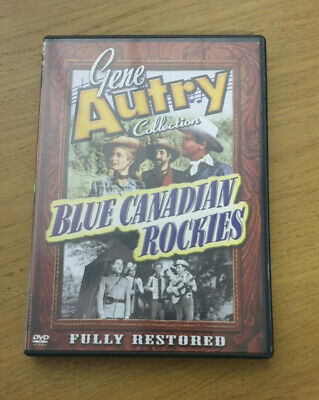 Blue Canadian Rockies - Region 1 DVD - Gene Autry Collection • 7.99£