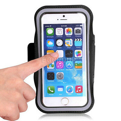 AU14.99 • Buy Universal Mobile Phone Running Jogging Sports Arm Band Pouch Case Holder Bag New