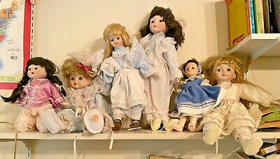 $ CDN13.52 • Buy Lot Of 12 Vintage-Contemporary Porcelain Dolls
