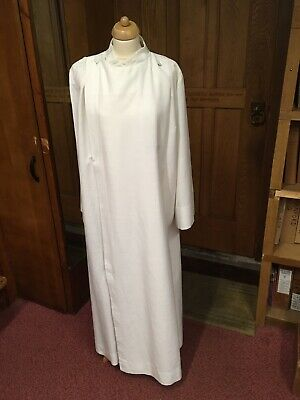 Double Breasted Slabbinck Cassock Alb In Ivory/cream. Catholic Priest • 40£