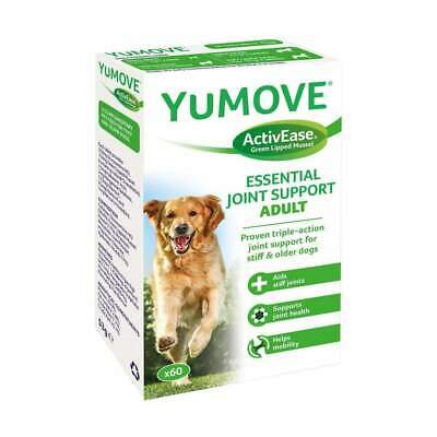 Lintbells YuMOVE Dog Joint Support Supplements Stiff Dogs Arthritis 60 Tablets • 20.52£