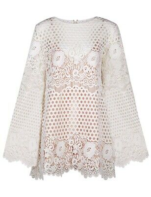 AU80 • Buy ALICE MCCALL LIKE I WOULD WHITE DRESS Size 12 - Excellent Pre Owned Condition