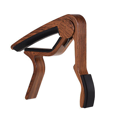 $ CDN8.66 • Buy Aluminum Alloy Wood Color Guitar Capo For 6-string Folk Guitar Electric L1O2