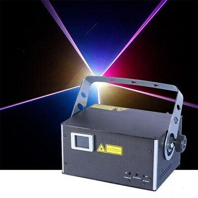 AU764.10 • Buy CR Laser Fine 7 RGB 1W Laser 20k Scanning Auto Sound DMX ILDA With Keyboard