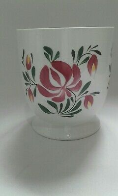 PORTMEIRION Welsh Dresser Floral Planter With Stylized Honeysuckle Flowers  • 12.50£