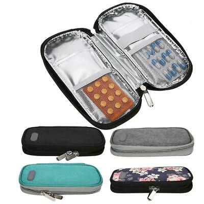 Patients Portable Insulin Cold Storage Bag Medicines Refrigerated Cool Bag • 7.99£