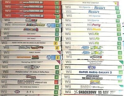 AU68.88 • Buy Wii Nintendo Games *Free Postage* Select From Drop Down Box