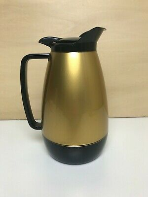 AU14.17 • Buy West Bend Thermo Serve Carafe Insulated Server Coffee Pot Gold And Black