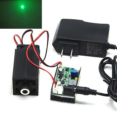 AU238.19 • Buy Focusable 520nm 1000mW 1W Green Dot Laser Diode Module Driver TTL + 12V Adapter