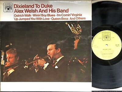 Alex Welsh And His Band. Dixieland To Duke. Vinyl Jazz Record • 5£