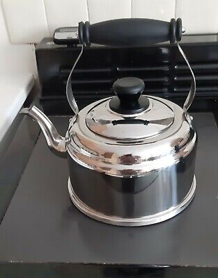 Official AGA Classic Stove Kettle 2l Stainless Steel Suitable For All Cookers • 10£