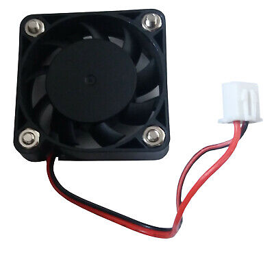 40mm X 10mm Small Case Cooling Fan 12V 2 Pin With Fitting Screws And Nuts • 2.99£