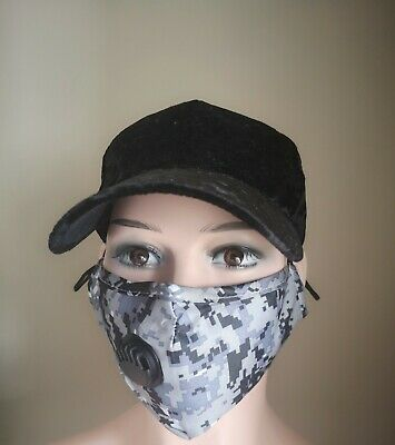 $ CDN7.99 • Buy Face Mask-High Quality Reusable/Washable  Face Mask With Filter Pocket +PM 2.5