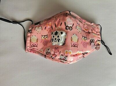 $ CDN6.99 • Buy Kids Face Mask-High Quality Reusable/Washable Mask With Filter Pocket +PM 2.5