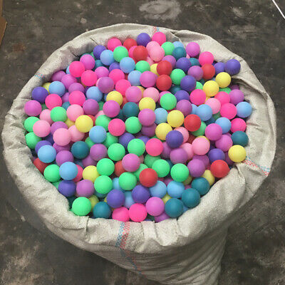 AU6.99 • Buy 50pcs 40mm Mixed Color Ping Pong Balls Entertainment Table Tennis Toys Game