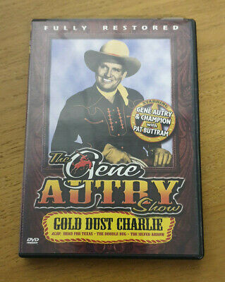 Gold Dust Charlie - Region 1 Import DVD - The Gene Autry Show • 7.99£