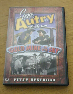Gold Mine In The Sky - Region 1 Import DVD - Gene Autry Collection • 7.99£