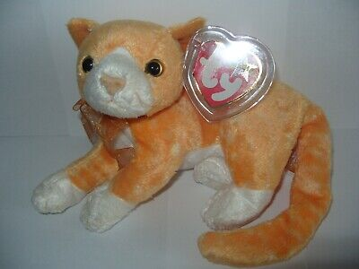£9.99 • Buy Ty Beanie Baby Tabs - The Cat - Mint - Retired With Tags
