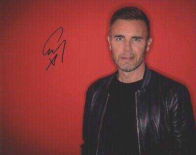 Genuine 10x8 Signed Photo Of Gary Barlow + COA • 6.51£
