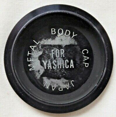 Metal Yashica Body Cap For 35mm Film Cameras M42 Screw Fit. Made In Japan  • 4.90£