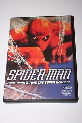 Spider-Man - Once Upon A Time - DVD - Hardly Used Condition - Cartoon - Rating E • 3£