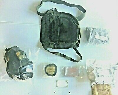 $99.95 • Buy  New Unissued M17a1/a2 Small Gas Mask, Hood, New Filter, Carry Case & Access.