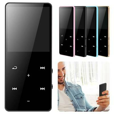 Bluetooth MP3 MP4 Players Portable FM Music Media Player Touch Key 2.4 Inch 8GB • 15.99£