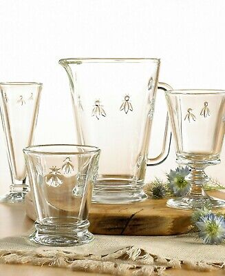 La Rochere Bee Glasses Wine,Champagne,Water,Tumbler,Carafe,Beer,Bowl,Goblet Pk 6 • 24.99£