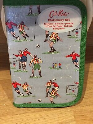 Cath Kidston Kids Stationery Set Football Design Outer Cover • 12.95£