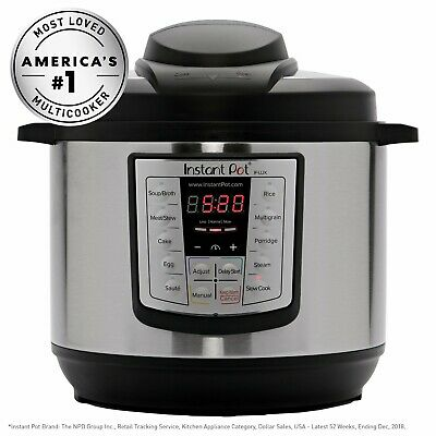 $48 • Buy Instant Pot IPLUX80 8 Quart Programmable Pressure Cooker
