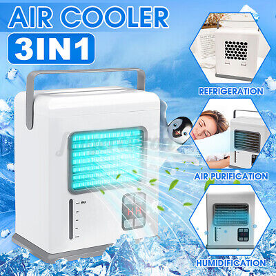 AU28.61 • Buy USB Portable Mini Air Conditioner Cooler Mobile Fans Humidifier Purifier System