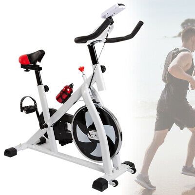 Spin Exercise Bike Home Cardio Spinning Flywheel Fitness Training Indoor Machine • 119£