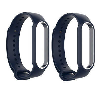 AU7.99 • Buy 2x Replacement Sports Silicone Band Strap Bracelet For Xiaomi MI Band 5 New