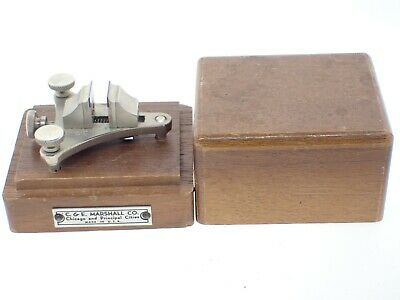 $ CDN47.55 • Buy Vintage Watch-Craft Watchmakers Poising Tool + Blue Jaws Watch Tools + Wood Box