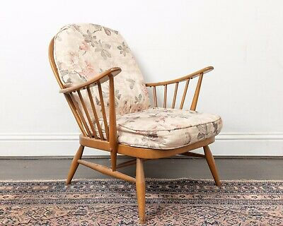 Ercol Windsor Armchair With Cushions. Matching Items Available • 270£
