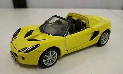 $ CDN19.71 • Buy Welly 2003 Lotus Elise 111s 1/24 Scale Diecast Car Yellow Convertible RARE