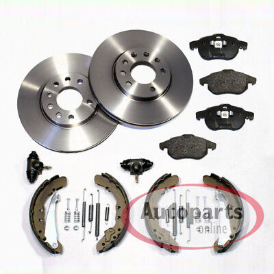 VW T4 Bus - Brake Discs Pads Front Brake Shoes Set Accessories For Rear • 101.95£