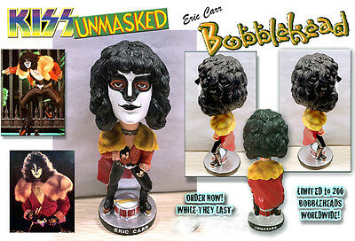 $39.99 • Buy KISS, ERIC CARR, UNMASKED BOBBLEHEAD, HANDCRAFTED, Paul Stanley!