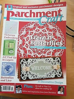 Parchment Craft Magazine May 2014 • 1.50£