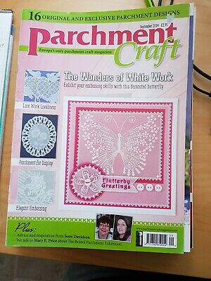Parchment Craft Magazine September 2014 • 1.50£
