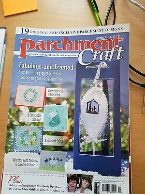Parchment Craft Magazine November 2014  • 1.50£