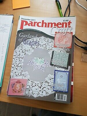 Parchment Craft Magazine December 2011 • 1.50£