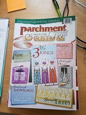 Parchment Craft Cards For Christmas Magazine  • 1.50£