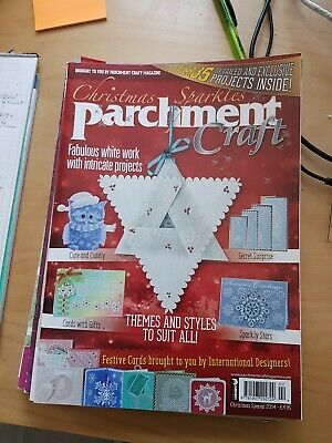 Parchment Craft Magazine  Christmas Sparkles  • 1.50£