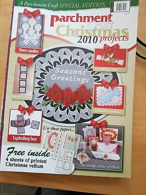 Parchment Craft Magazine  Christmas Projects 2010 • 1.50£